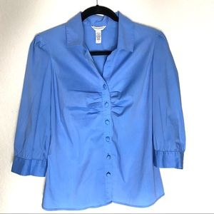 Banana Republic 3/4 sleeve button down shirt